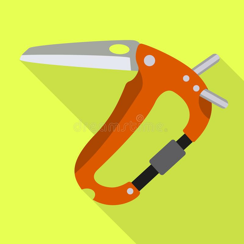 Pocket Knife With Compass Stock Vector Illustration Of