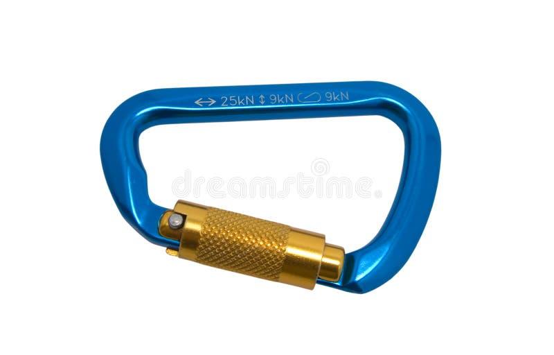 Carabiner image stock