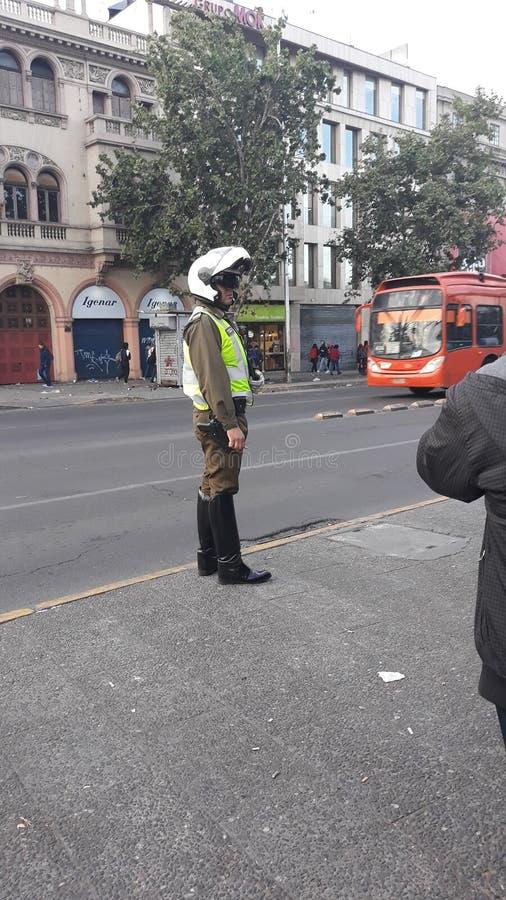 Carabinero chilien photos libres de droits