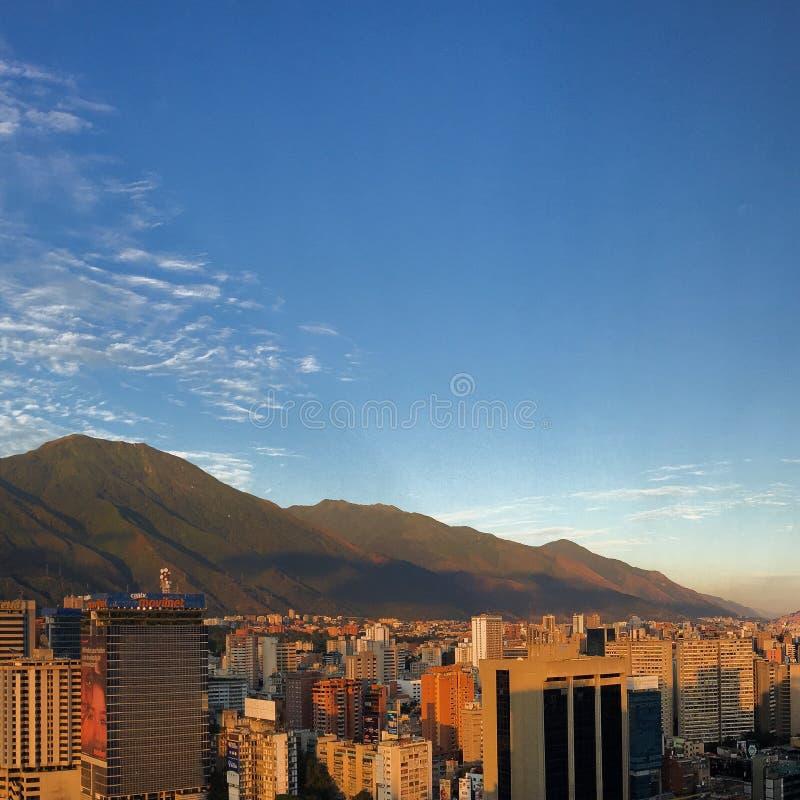Caracas-Ansicht stockfotografie