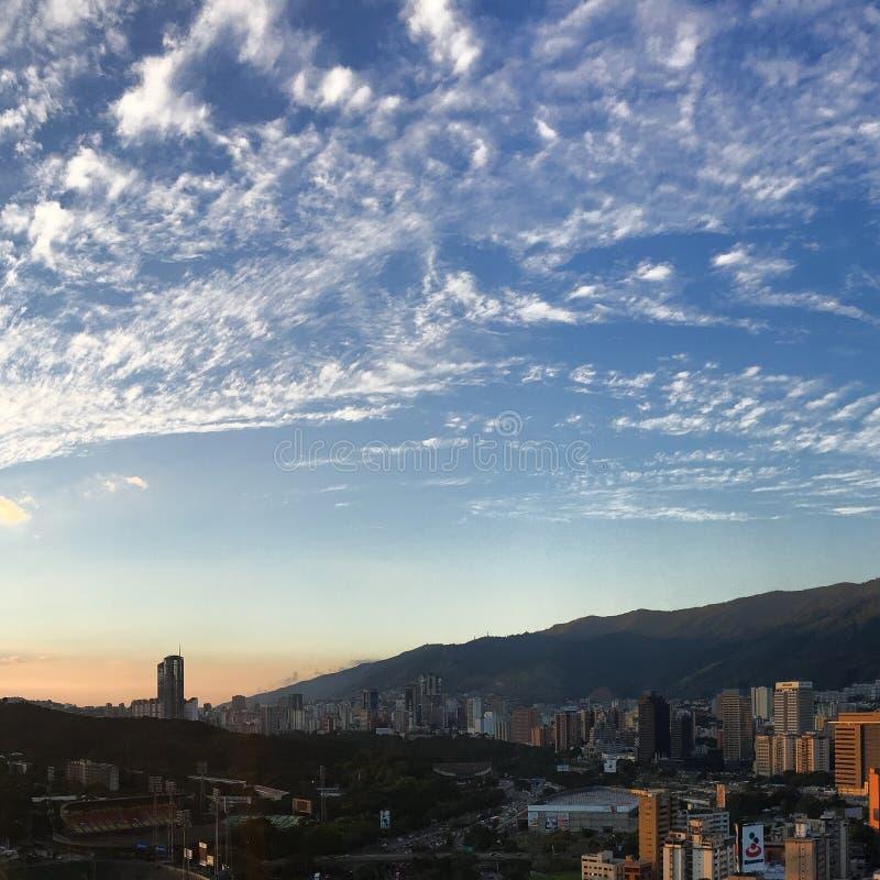 Caracas-Ansicht stockfotos