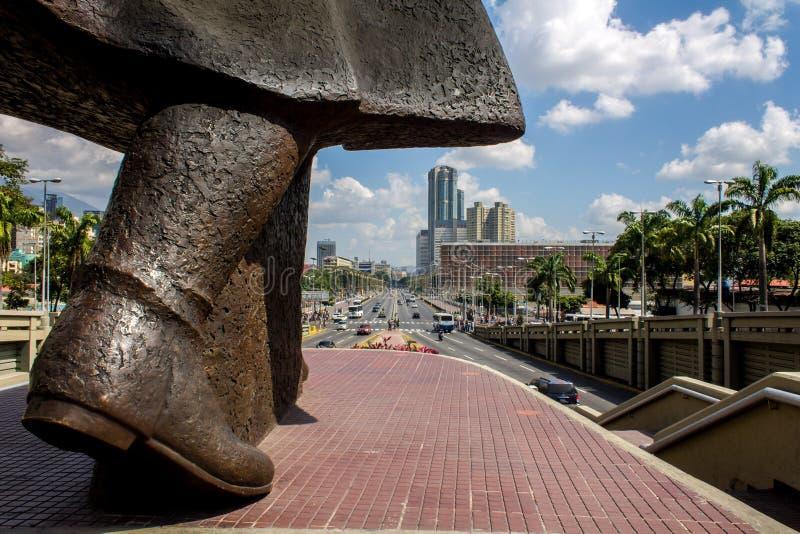 Caracas - il Venezuela immagine stock