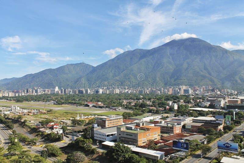 Caracas miasta widok zdjęcia stock