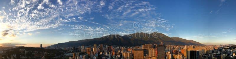 Caracas-Skyline stockbild
