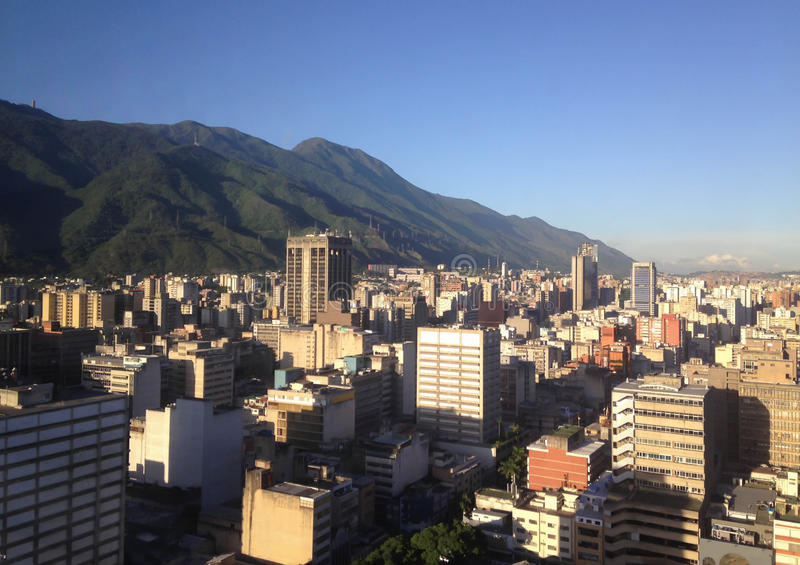 Caracas skyline. royalty free stock photos