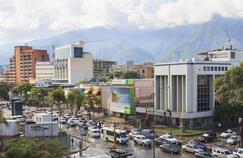 Caracas-Stadt, Venezuela lizenzfreies stockbild