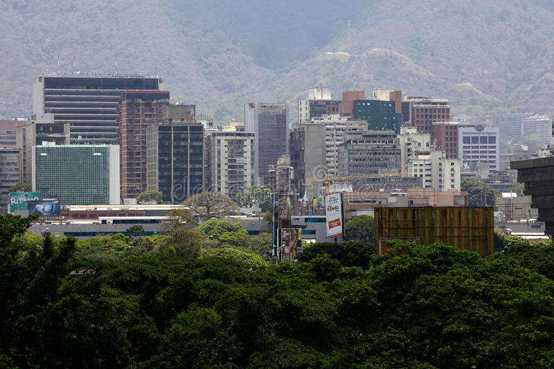 CARACAS, VENEZUELA immagine stock libera da diritti