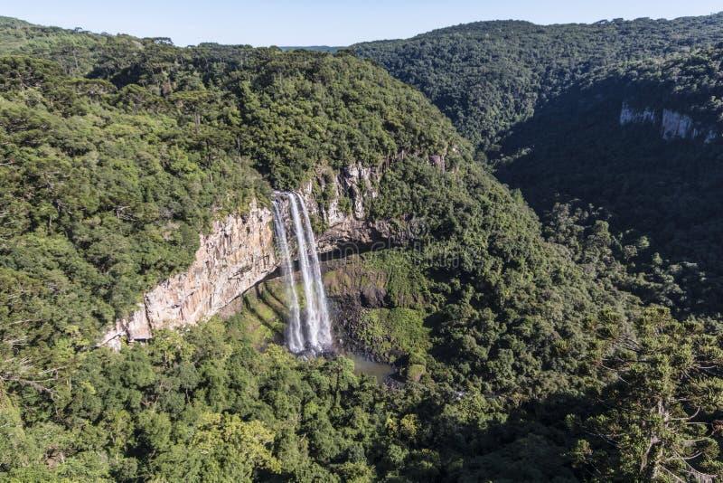 Caracol baja - Canela/RS - el Brasil imagen de archivo libre de regalías