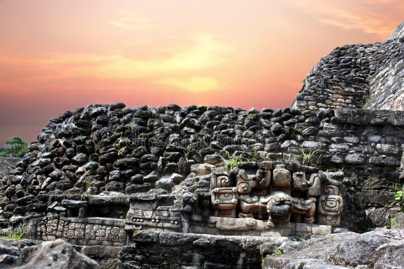 Download Caracol hieroglyphics stock photo. Image of mayan, district - 20896750