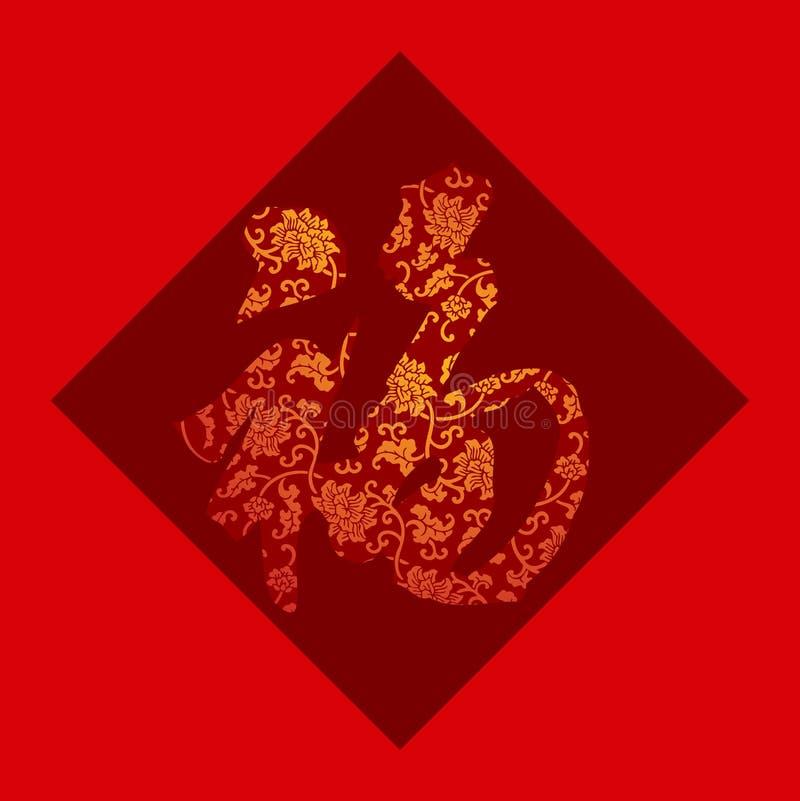 Caractère chinois pour   illustration libre de droits