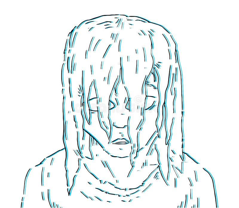 Caractère créateur illustration stock