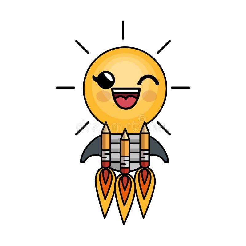 Download Caractère D'idée De Lumière D'ampoule Grand Illustration de Vecteur - Illustration du énergie, brainstorming: 87702648