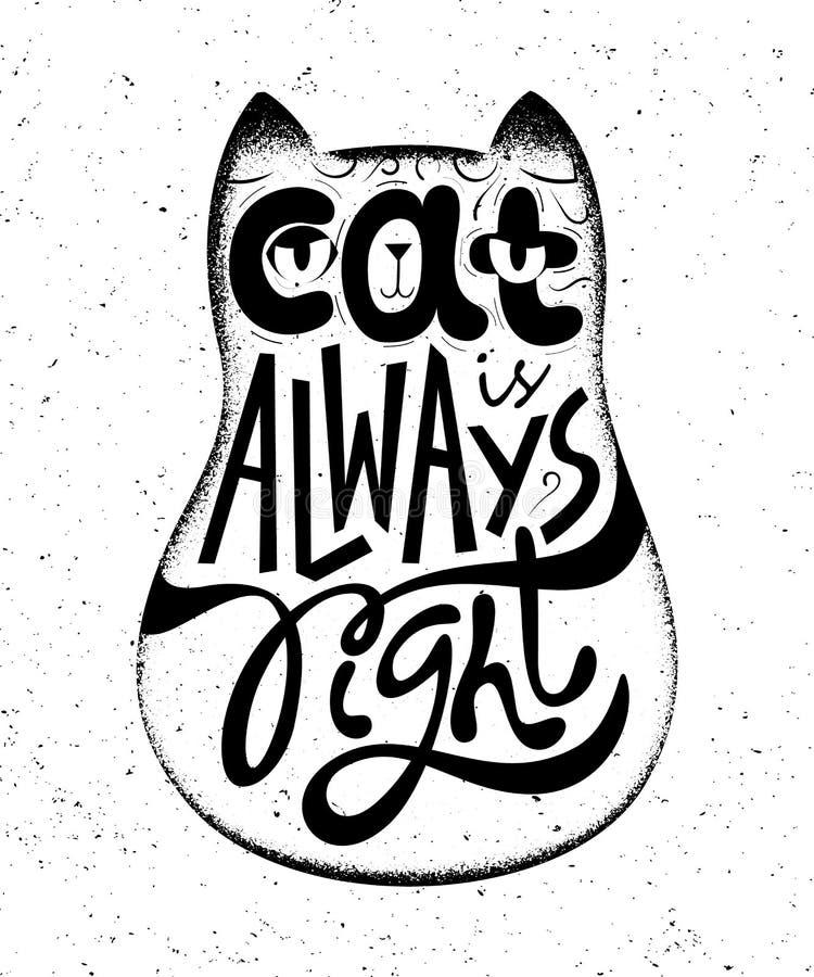 Caractère de Ginger Cat illustration stock
