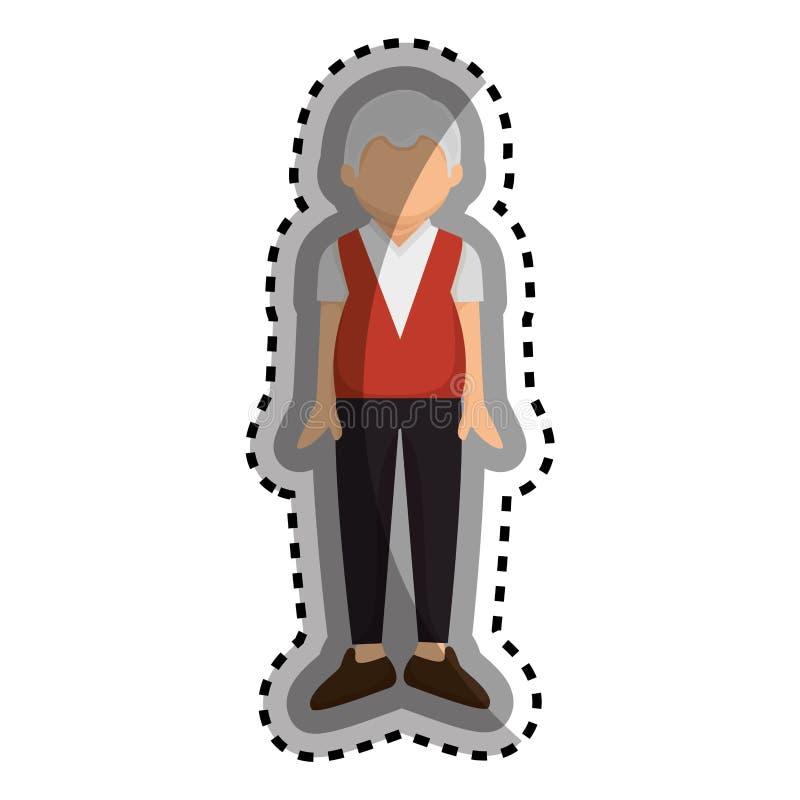 Download Caractère Première Génération Mignon D'avatar Illustration de Vecteur - Illustration du papa, personne: 87704473