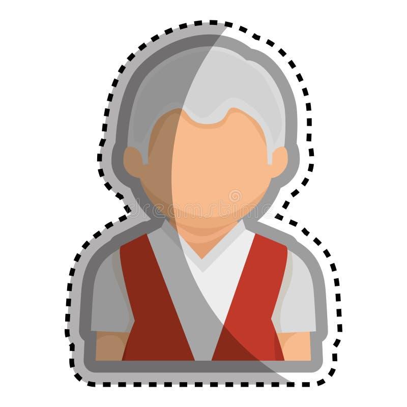 Download Caractère Première Génération Mignon D'avatar Illustration de Vecteur - Illustration du pères, abstrait: 87704652