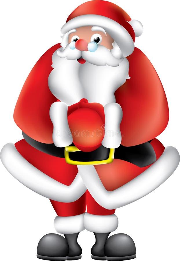 caractère Santa illustration de vecteur