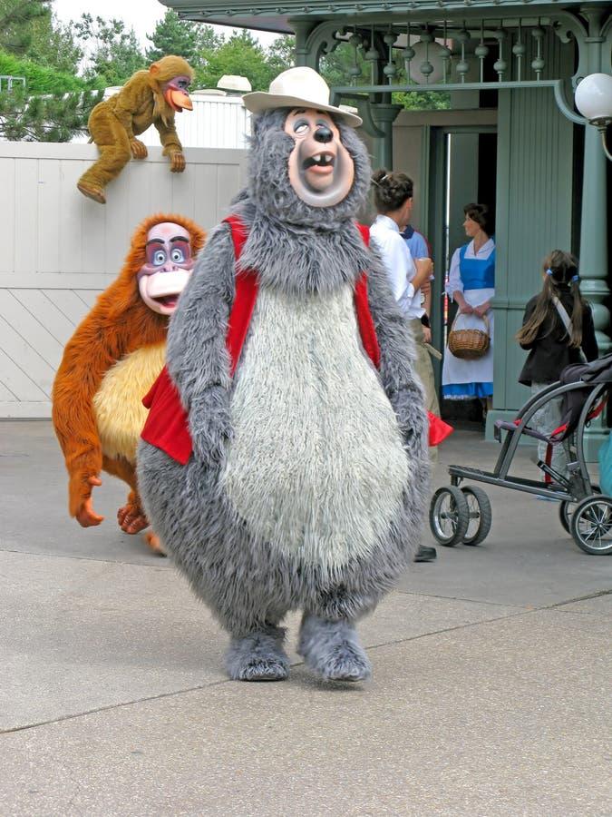 Caractères de Disney photos stock