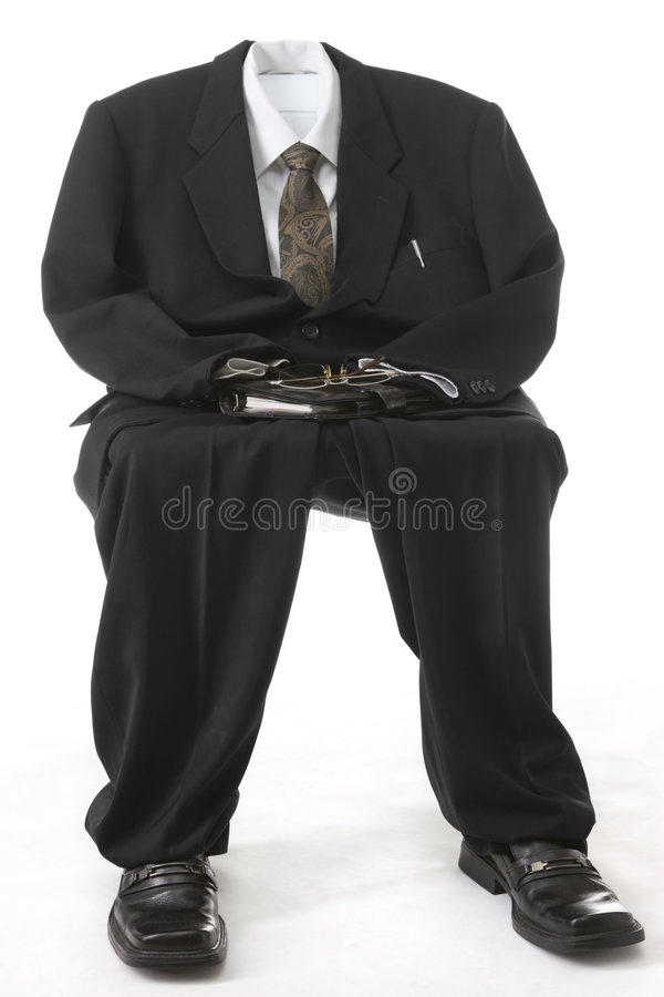 Caractérisation d'homme d'affaires image stock