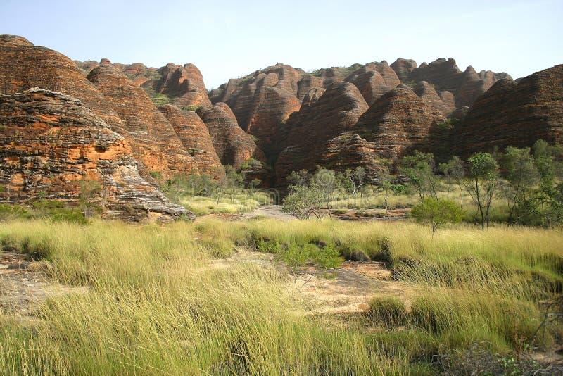 Caractéristique géologique de crique de Piccaninny images stock