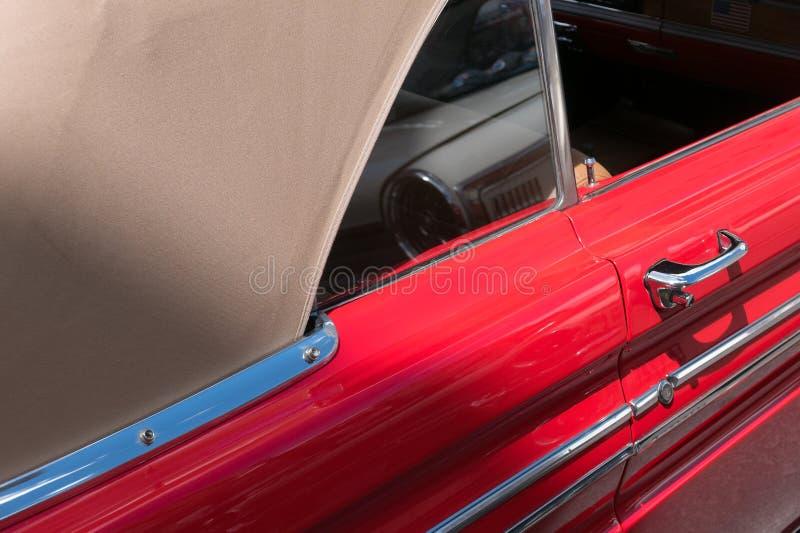Caractéristiques convertibles de la comète au mercure classique photographie stock