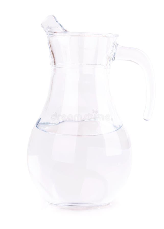 Carafe en verre photo libre de droits
