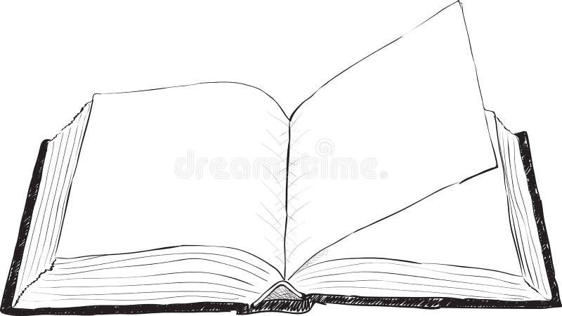 Carafe - ilustração áspera ilustração royalty free