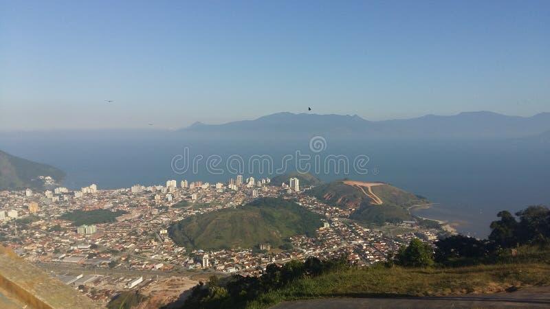 Caraguatatuba Brasile fotografia stock libera da diritti