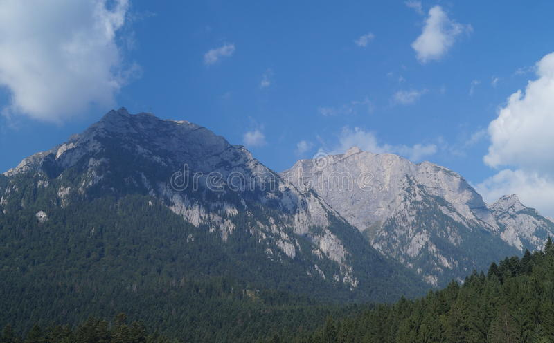 Caraiman山, Busteni 图库摄影