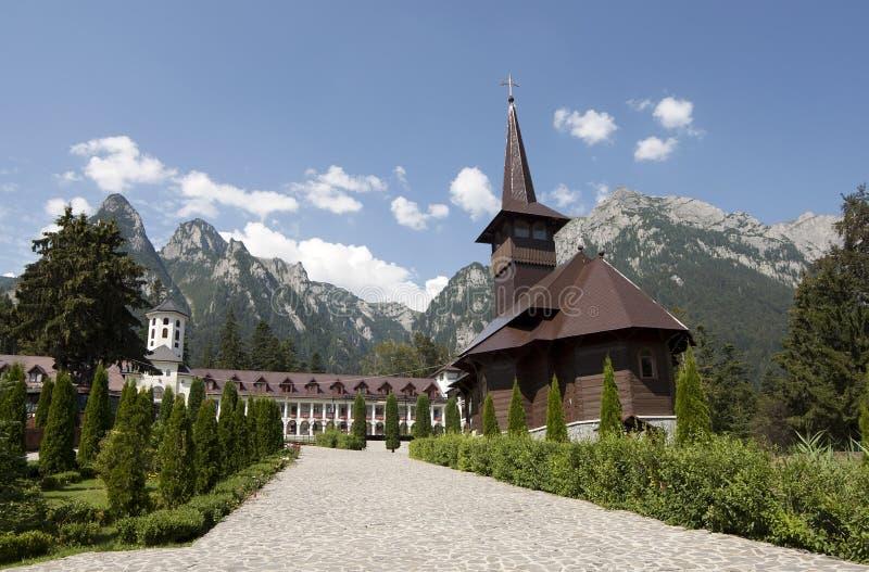 Caraiman monastery royalty free stock photos