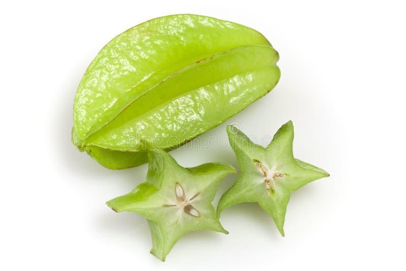 Carambola ou Starfruit fotografia de stock royalty free