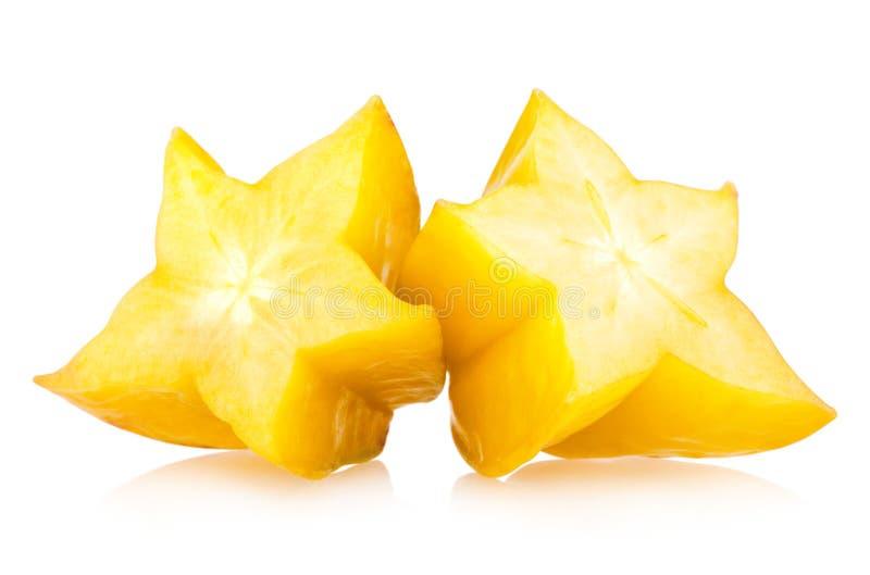 Carambola - stjärnafrukt arkivfoto