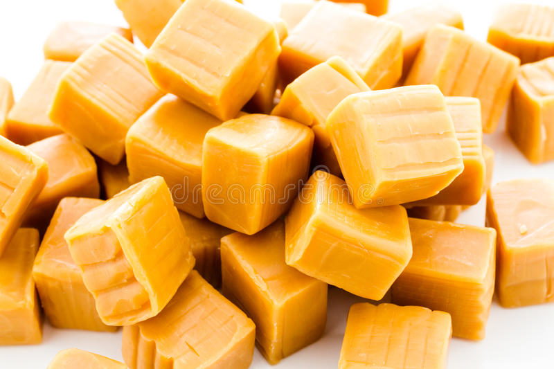 Caramel candy royalty free stock photography