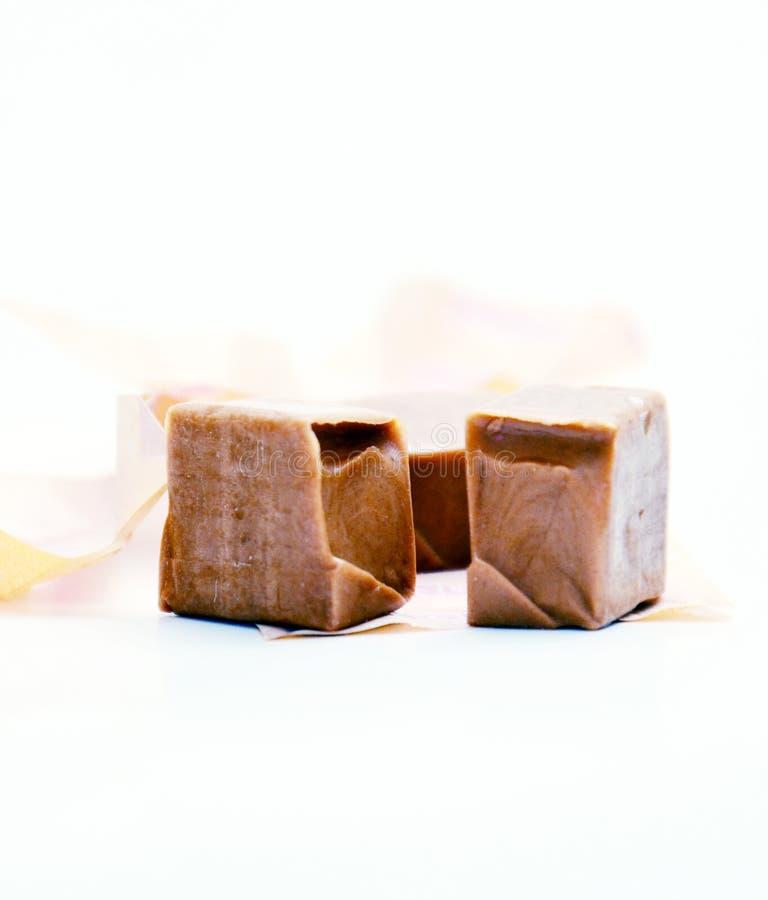 Caramel de lait doux photo libre de droits