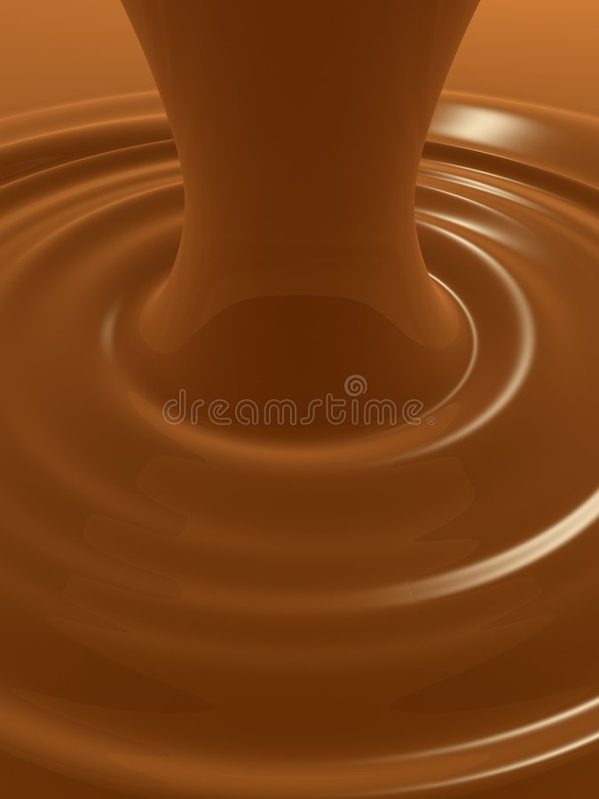 Free Caramel Flow Royalty Free Stock Images - 4170579