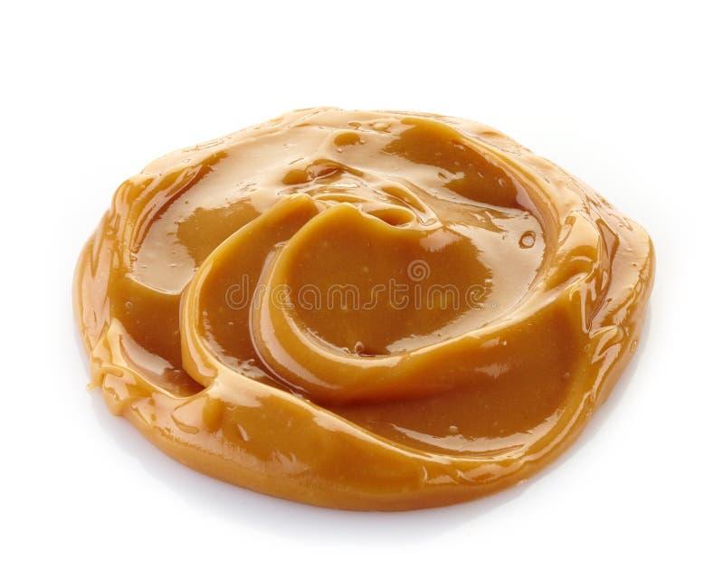 Caramel fondu images stock
