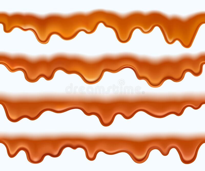 Caramel Sauce Stock Illustrations 4 105 Caramel Sauce Stock Illustrations Vectors Clipart Dreamstime