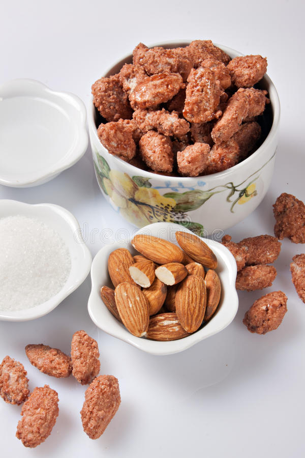 Download Caramelized almonds stock image. Image of nutritional - 22772537