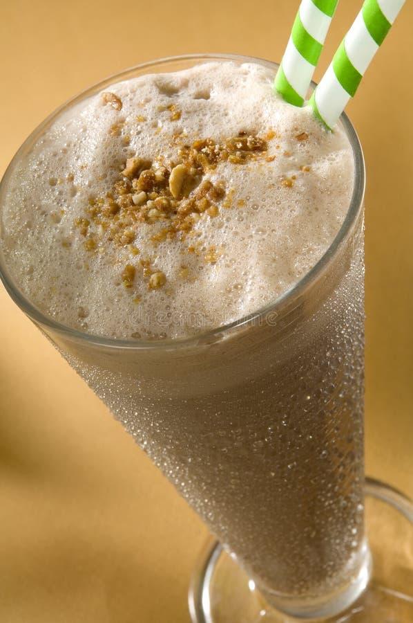 caramelized milkshakemuttrar arkivfoto