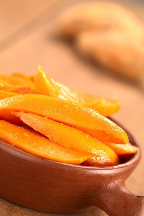 Download Caramelized Sweet Potato Wedges Stock Photo - Image: 27515852