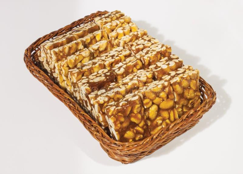 Caramella dell'arachide, immagine stock