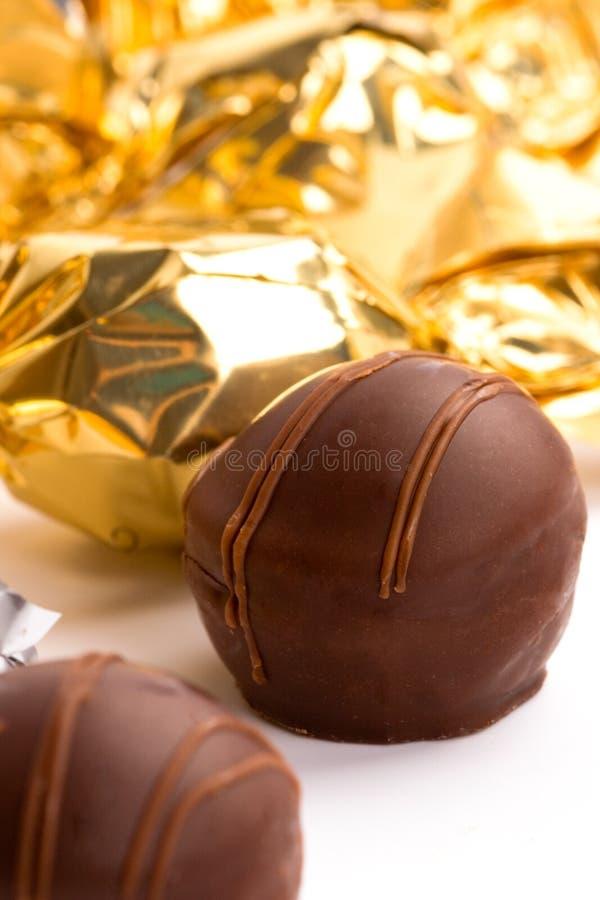 Caramella di cioccolato immagini stock libere da diritti