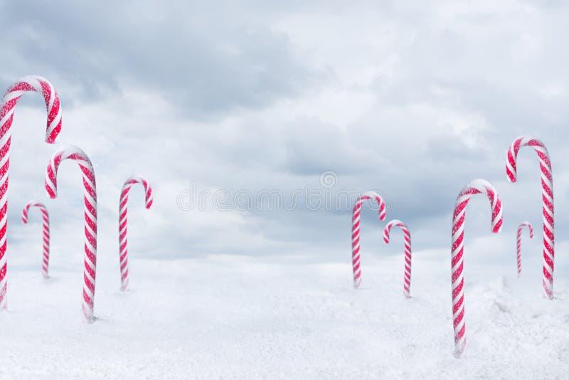 Caramella di Natale fotografie stock