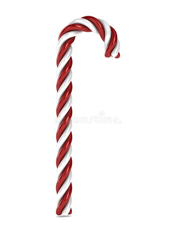 Caramella Di Natale Su Fondo Bianco Immagine Stock