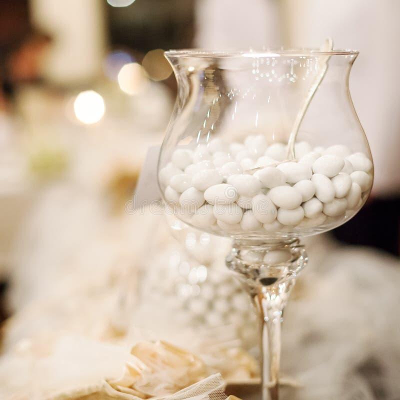 Caramella di nozze immagini stock