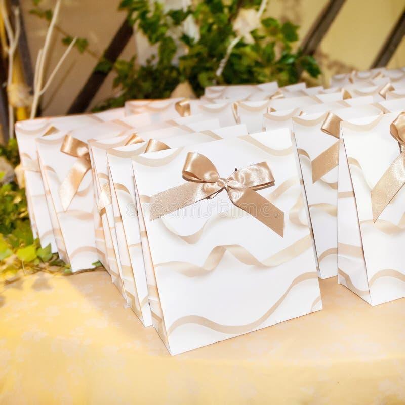 Caramella di nozze fotografia stock