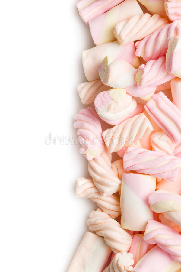Caramella gommosa e molle dolce immagine stock