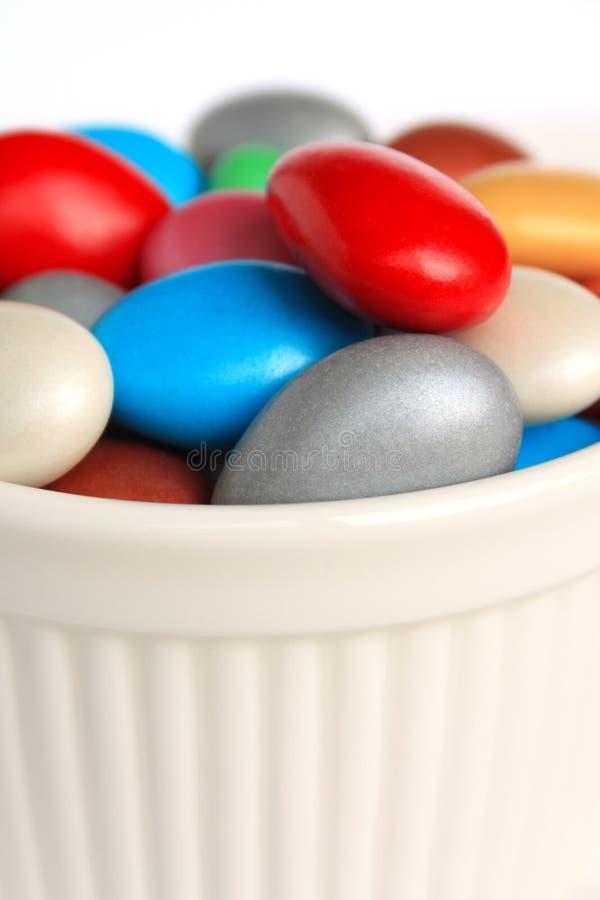 Caramella rivestita dello zucchero immagini stock libere da diritti