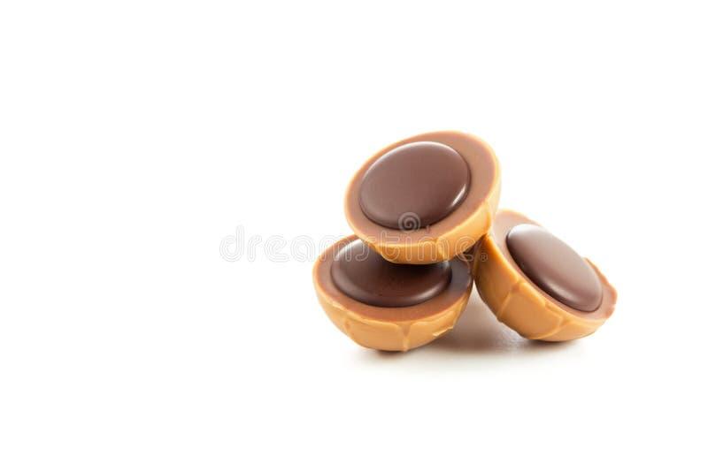 Caramelle del caramello fotografia stock