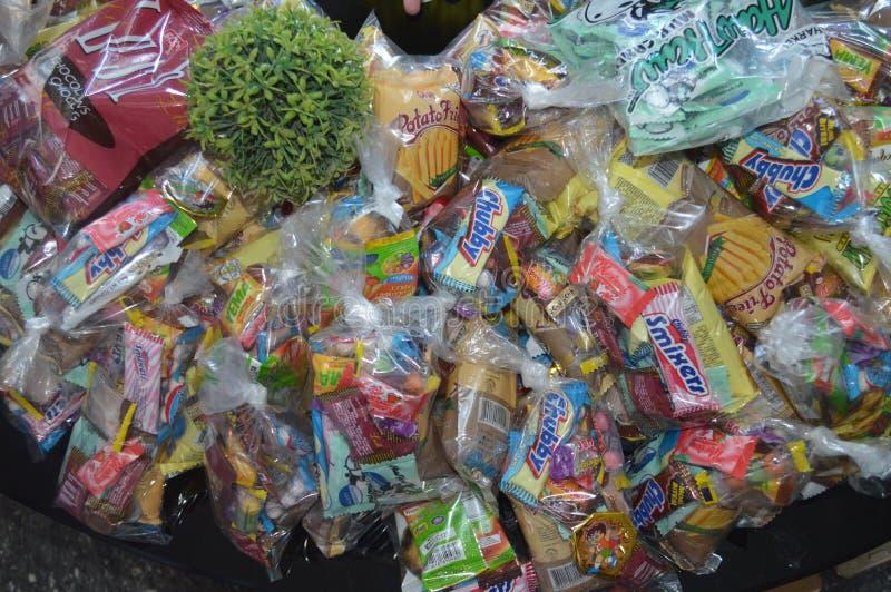 Caramelle e dolci immagine stock