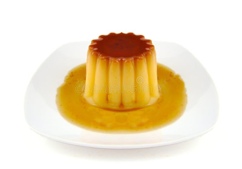 Caramello di crema, crème caramel o budino della crema fotografie stock libere da diritti